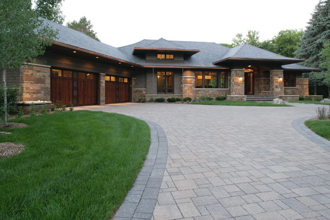 Exterior Stone Brick Msi Custom Homes